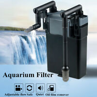 220V Ultra-quiet Aquarium External Hang On Filter Silent Fish Tank Water Pump