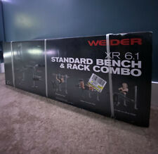 Weider XRS 6.1 Weight Standard Bench & Rack Combo