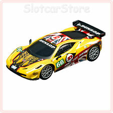 """Carrera GO 61244 Ferrari 458 Italia GT2 JMW Motorsports """"No.66"""" 1:43"""