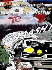 """""""Noël à la Chandleur"""" dessin numérique. CITROEN DS19 Style BD par JICEHER"""