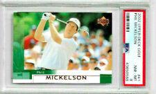 2002 Upper Deck Golf Phil Mickelson PSA 8