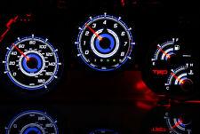 TOYOTA SUPRA MK4 glow gauges plasma dials tacho glow shift indicators MPH KMH