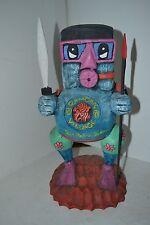 Vintage Carved Wood Scuba Man Monster Ramon's Village San Pedro Blize