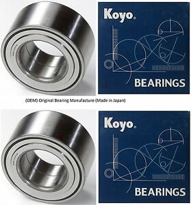1999-2003 Jaguar XJ8  Front Wheel Hub Bearing (OEM) KOYO (PAIR)