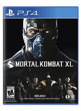 Mortal Kombat XL [PLAYSTATION 4 PS4, Arcade Lucha Fatality] Nuevo