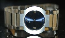 Delma Swiss Blue Dial Stainless Steel Watch