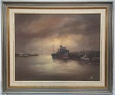 Wim Kortland oil painting, nautical naval maritime, Melbourne, Australian artist