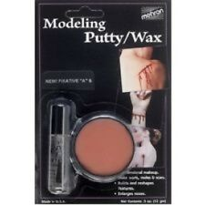 "MEHRON MODELING PUTTY/WAX w/FIXATIVE ""A"" SEALER SPECIAL EFFECTS MAKEUP"