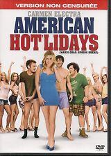 DVD ZONE 2--AMERICAN HOT'LIDAYS / VERSION NON CENSUREE--CARMEN ELECTRA