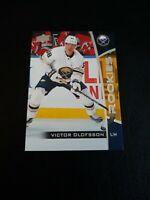 2019-20 Upper Deck NHL Rookies #17 Victor Olofsson Buffalo Sabres Hockey Card RC