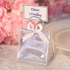 Bonbonnières de mariage transparents