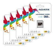 Lot of 5 ADATA 32 GB 32G Class 4 MicroSDHC Memory Card for Nokia Asha 205