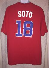 Giovanni Soto Chicago Cubs Jersey T-Shirt Size XL by MLB Genuine Merchandise