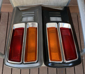 DATSUN-NISSAN 1974-78 FAIRLADY Z 260Z 2+2 COUPE GENUINE COMPLETE IKI TAIL-LIGHTS