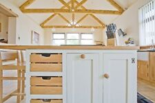 bespoke painted oak kitchen,larder unit (door only)