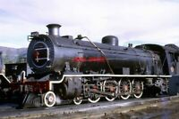 PHOTO  SOUTH AFRICAN RAILWAYS A 15AR CLASS 4-8-2 ON SHED AT GRAAFF REINET THE 15