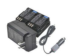 New 4x DLI90 D-LI90 Battery + Charger for Pentax 645D K-7 k7 k5 Camera