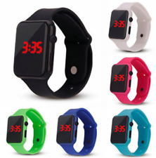 Digital Womens/Mens/Kids/Boys/Girls Waterproof LED Display Watch **UK SELLER**