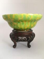 Ciotola in porcellana cinese colore insolito SMALTO (contrassegnato)