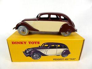 Peugeot 402 Taxi - Dinky Toys DeAgostini Voiture Model Car 24L