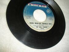 The Soul Stirrers Jesus, Wash My Troubles Away/Where You There Black Gospel VG