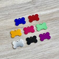 $2.50!!! SUPERB Quality! Bone Shape Tag, Dog ID Tag, Pet ID Tag, FREE Engraving!