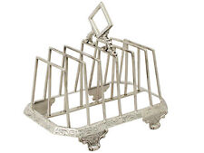 Sterling Silver Toast/Letter Rack - Antique Victorian