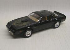 1979 Pontiac Firebird Trans Am Black 1:43 Lucky Die Cast / Yat Ming 94239