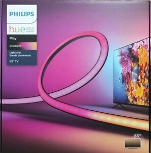 "NEW Philips Hue Play Gradient LED Backlight Lightstrip 65"" - 70"" TVs SHIPS TODAY"