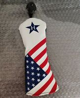 1xgolf hybrid club headcover star ut headcover rescue head cover for taylormade