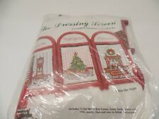 """The Dressing Screen """"Twas' The Night..."""" Cross Stitch Kit -- New in open package"""