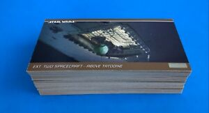 STAR WARS TOPPS TRILOGY WIDEVISION SPECIAL EDITION SET 1-72