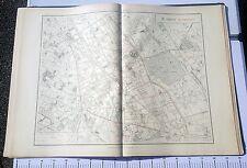 Paris XI ème - Selves Préfet Très Rare Plan de 1905 au 1/5000 (66,5 x 93 cm)