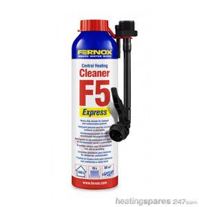Fernox F5 Express Central Heating Cleaner 58230 BNIB- F5 Express Aerosol