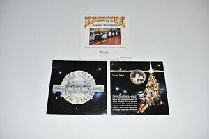 1977-87 Star Wars Rarities Mint 1oz .999 Silver 10th Anniversary Coin w/cover