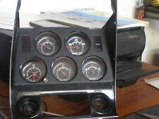 1972 corvette gauge panel