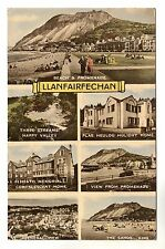 Llanfairfechan - Multiview Photo Postcard 1959