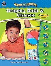 Math in Action - Graphs, Data and Chance, Grades 1-2 teacher resource  workbook