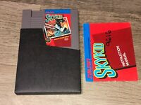 Sky Kid w/Manual & Sleeve Nintendo Nes Cleaned & Tested Authentic