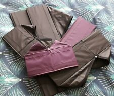 6 IKEA SKUBB purple/black Fabric Storage Boxes. Drawer Organiser Dividers