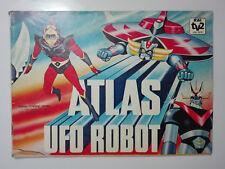 Album con figurine ATLAS UFO ROBOT 1978 EDIERRE non completo