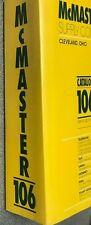 McMaster Carr Catalog # 106, 2000, Excellent Condition, Binding In Great Shape