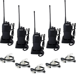 Retevis RT1 2 Way Radios Walkie Talkies Long Range,High Power Two Way Radios Rec