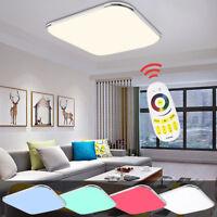 RGB Farbwechsel 36W LED Deckenleuchte Kontroller Lampe Deckenlampe Fernbedienung
