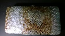 New listing Fashion Lady Womens Clutch Long Purse Faux Reptile Leather Wallet Card Holder
