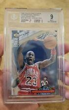 Michael Jordan 1994 1995 Collector's Choice Gold Signature #402 Graded BGS 9