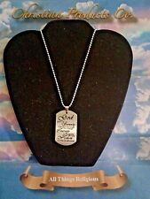 Serenity Prayer Pendant Men Fashion Jewelry stainless steel AA / NA