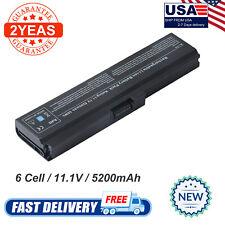 Battery for TOSHIBA Satellite C600D L750 A660 C640 C655 L655 PA3817U-1BAS