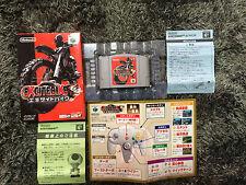 Excitebike 64 Nintendo 64 Japan NTSC-J boxed set Excite Bike no Manual N64
