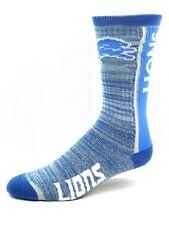 Detroit Lions NFL Football Bar Stripe Vert Crew Socks